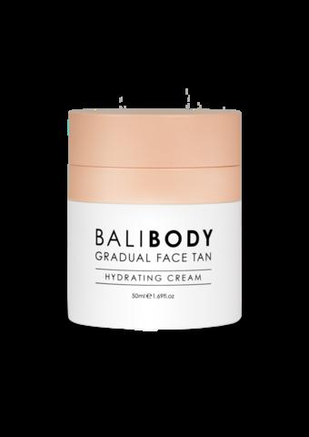 BALIBODY Увлажняющий крем для лица с эффектом автозагара Gradual Face Tan