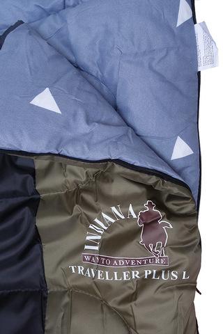 Спальный мешок INDIANA Traveller Plus, логотип.