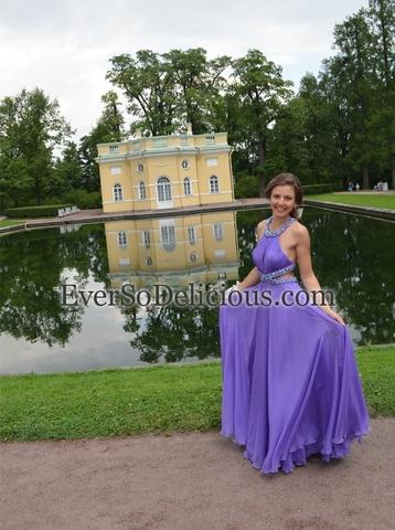 Очаровательная Дарья в платье Jovani 7506