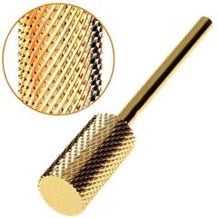 Фреза твердосплавная цилиндрическая, золото, D=5 мм