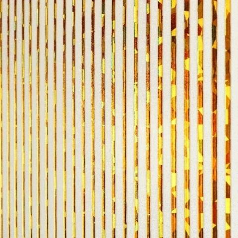 Гибкие ленты голография золото