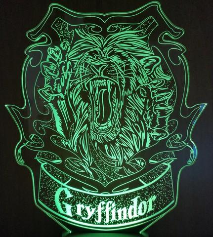 Ночник Гриффиндор - Gryffindor (Гарри Поттер)