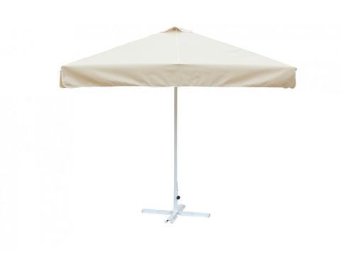 Зонт 2 х 2 м с воланом (алюминиевый каркас с подставкой, тент OXF 300D) ПК
