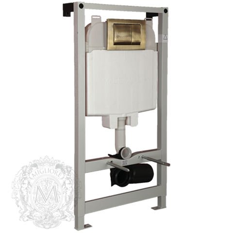 Система инсталляции для подвесного унитаза Migliore Better Pol (крепление к полу, без кнопки) H1150xL500xP180 mm