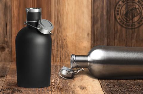 Гроулер для пива Asobu Beer (1,9 литра), черный