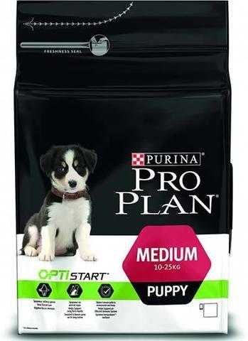 18 кг. PURINA PRO PLAN Сухой корм для щенков средних пород с курицей и рисом Medium Puppy Opti Start