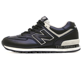 Кроссовки Мужские New Balance 574 Premium Leather Black White
