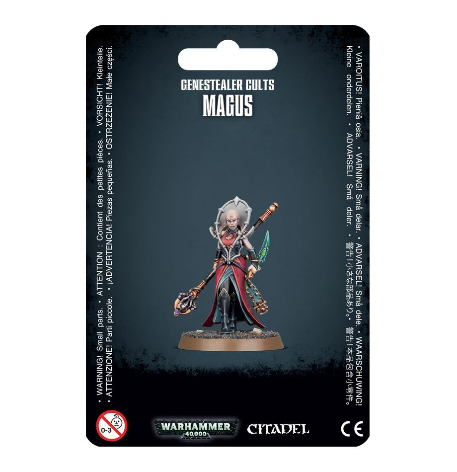 Genestealer Cults Magus. Магус Генокульта