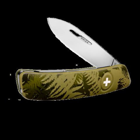 Швейцарский нож SWIZA C01 Camouflage, 95 мм, 6 функций, хаки