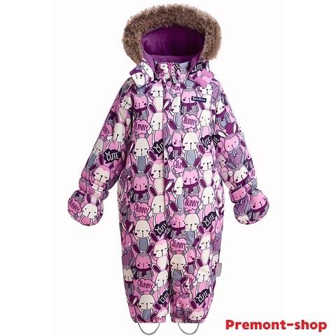 Зимний комбинезон Premont Озорные зайчики WP91051 PINK