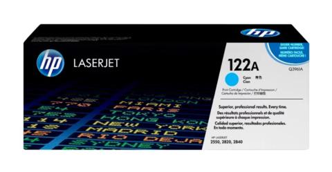 Оригинальный картридж Q3961A (№122A), голубой