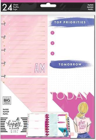 Дополнительный блок листов для ежедневника Classic Note Paper - Encourager Foil- 24 л