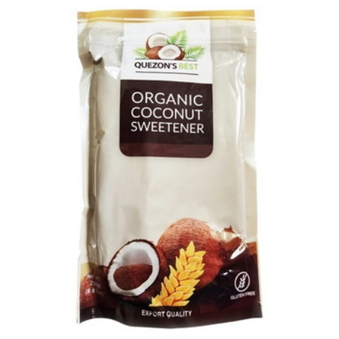 Купить Органический кокосовый сахар Quezon Best, 250 г в интернет-магазине kotelock.ru