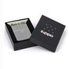 Зажигалка Zippo № 21088 с покрытием Black Ice, латунь/сталь, чёрная, глянцевая, 36x12x56 мм