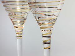 Набор бокалов для шампанского «Аморосо», 200 мл, фото 3