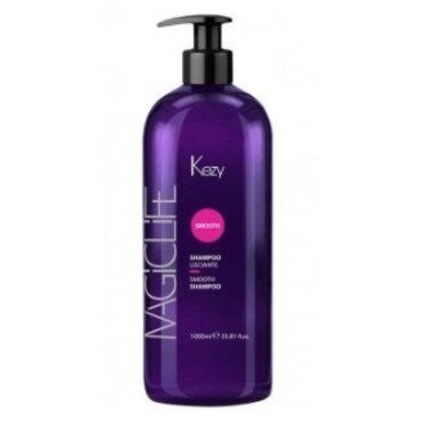 Шампунь разглаживающий Kezy Magic Life Smooth Shampoo 1000 мл