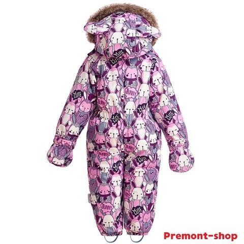 Комбинезон Premont для девочек Озорные зайчики WP91051 PINK