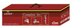 Комплект для ванной Kaiser County 5500К (55011+55022+стойка R1100) набор