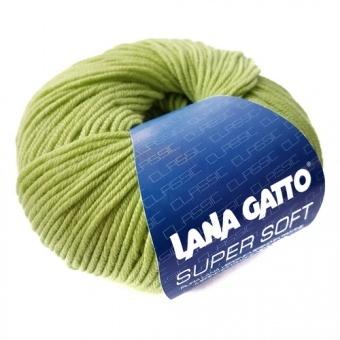 Пряжа Lana Gatto Supersoft 5282 салатовый