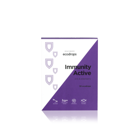 Карамель леденцовая Healthberry Immunity Active, 30 шт