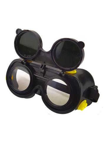 Профессиональные защитные очки газосварщика с минеральными стеклами KniknakTech