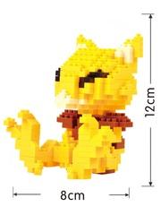 Конструктор Wisehawk & LNO Покемон Абра 331 деталь NO. 220 Abra Pokemon Gift Series