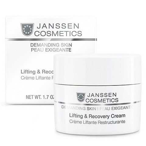 Janssen Demanding Skin: Восстанавливающий крем для лица с лифтинг-эффектом (Lifting & Recovery Cream)