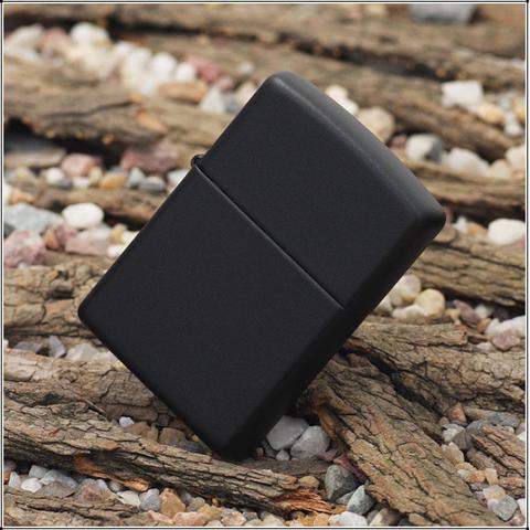 Зажигалка ZIPPO 218 Black Matte Хит продаж