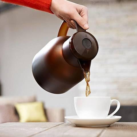 Термос-чайник Emsa Samba (1 литр), белый