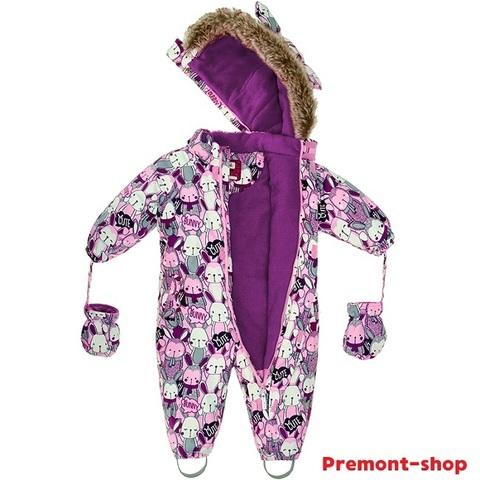 Детский комбинезон Premont Озорные зайчики WP91051 PINK