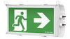 Аварийный светильник ВЫХОД промышленный HEAVY Exit IP65 Teknoware – общий вид