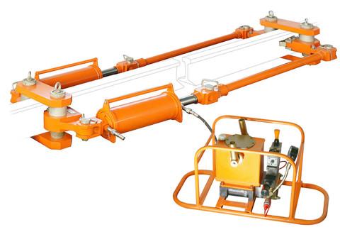 Устройство натяжное гидравлическое УНГ75В с гидронасосом ручным ГР1