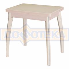Обеденный раскладной стол из дсп и искусственного камня Реал М-2 КМ