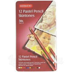 Набор из 12 пастельных карандашей Derwent