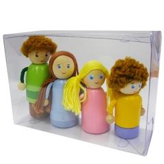 Набор пальчиковых игрушек  Вальда Семья