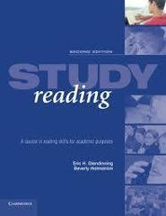 Study Reading Second Edition: A Course in Readi...