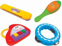Kiddieland  Набор музыкальных инструментов (KID 053231)