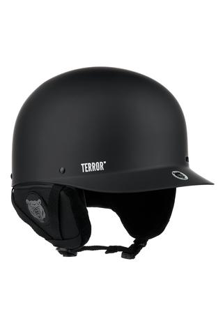 Шлем TERROR - CRANG Chrome Black