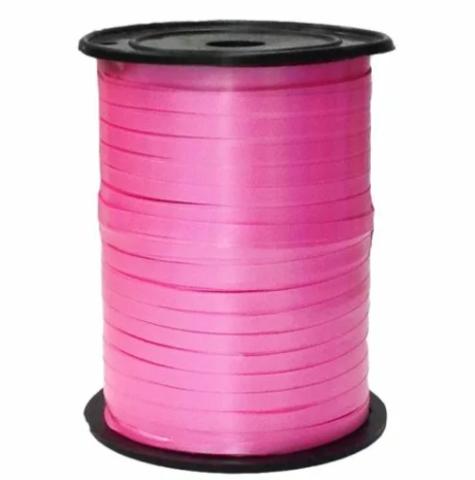 Лента полипропиленовая Светло-розовая металлик, 0,5см*250м