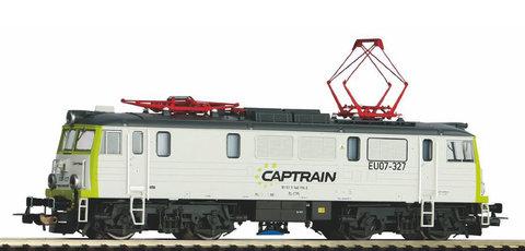 Электровоз BR EU07 Captrain VI, с разъемом для декодера PluX22