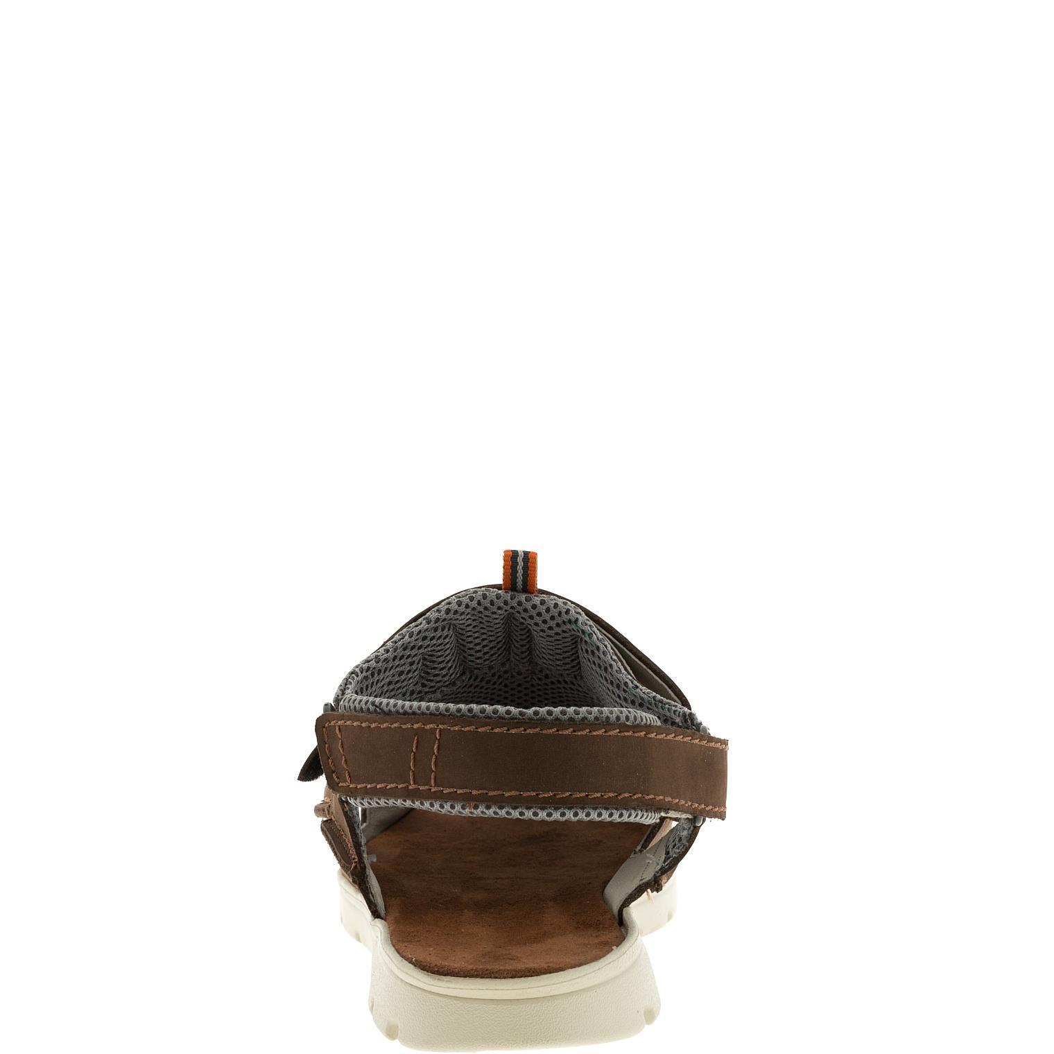 585285 сандалии мужские коричневые больших размеров марки Делфино