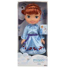 Кукла Анна Холодное сердце 35 см, приключение Олафа