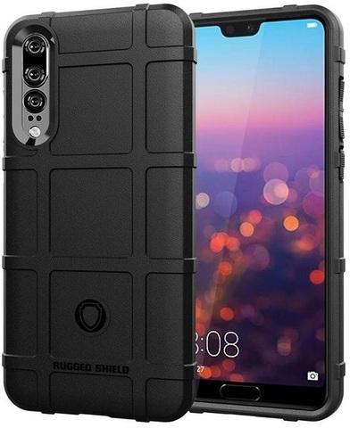 Чехол для Huawei P20 Pro цвет Black (черный), серия Armor от Caseport