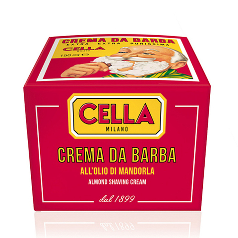 Мягкое мыло для бритья Cella Almond, 150 гр.