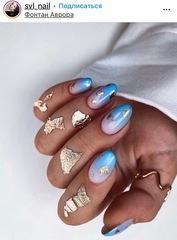 Поталь для дизайна ногтей