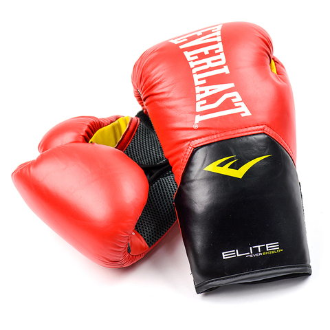 Перчатки боксерские Elite ProStyle, Everlast красные