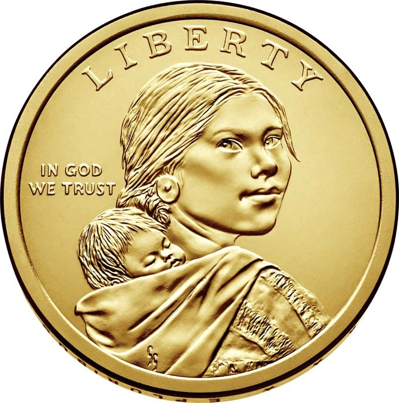 1 доллар 2017 г. Секвойя