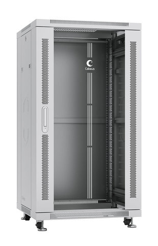 Шкаф напольный 19-дюймовый, 22U SH-05C-22U60/60 (7044c)