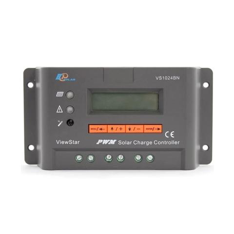 Контроллер заряда EPSolar VS1024BN (PWM, 10A, 12/24В, LCD дисплей)