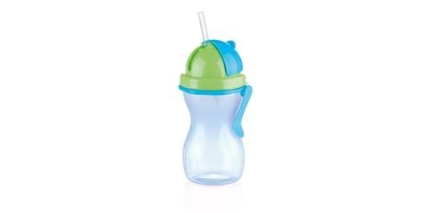 Детская бутылочка с трубочкой Tescoma BAMBINI